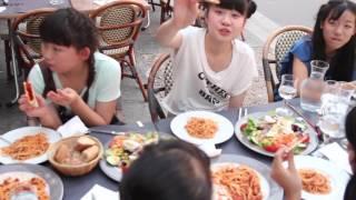復興支援アイドルみちのく仙台ORI☆姫隊 2015年7月2日〜5日フランスパリ...