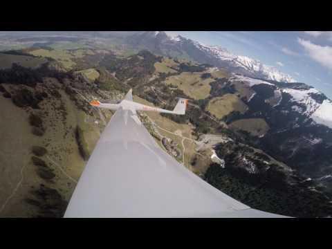Vol à Voile Gruyère Printemp 2015, Segelflug In Gruyère