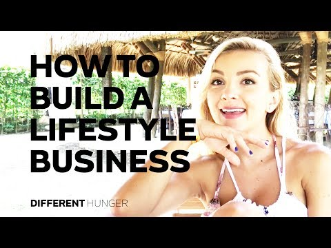 HOW TO BUILD A LIFESTYLE BUSINESS FT. ANATRU - DIFFERENT HUNGER