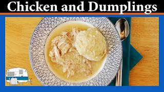 Chicken And Dumplings - White Trash Cooking