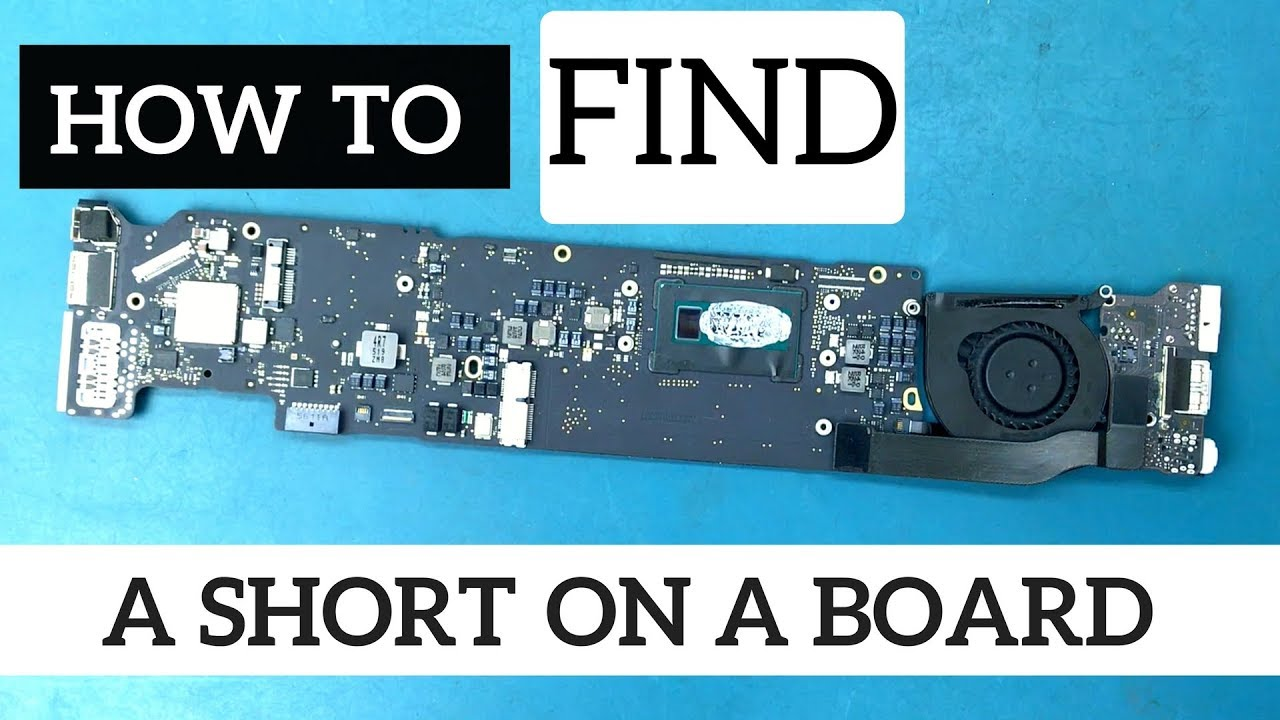 Find A Short On Dead Apple Logic Board 820-00165-A using Flir One Thermal  Camera Imager
