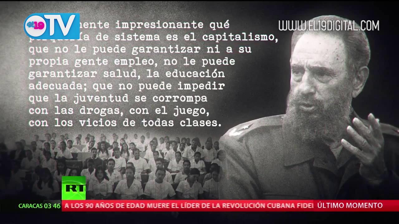 Tengo Un Chaleco Moral Las Célebres Frases Que Inmortalizaron A Fidel Castro