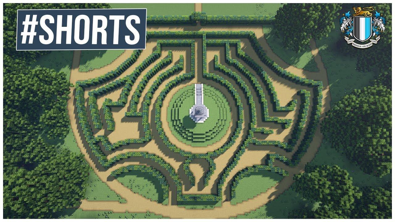 Minecraft : Hedge Maze Speed Run