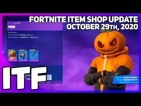 Fortnite Item Shop *NEW* BIGGEST SHOP EVER!? [October 29th, 2020] (Fortnite Battle Royale)