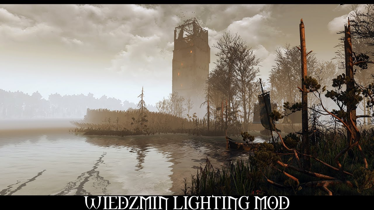 The Witcher 3 Mods - Wiedzmin Lighting Mod Final