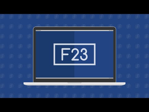 Fedora 23 Workstation – See What