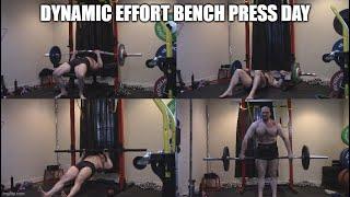 7-23-2020 Orc Mode Training -  Dynamic Effort Bench Press Day