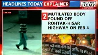 CCTV footage of Rohtak victim, moments before she went missing
