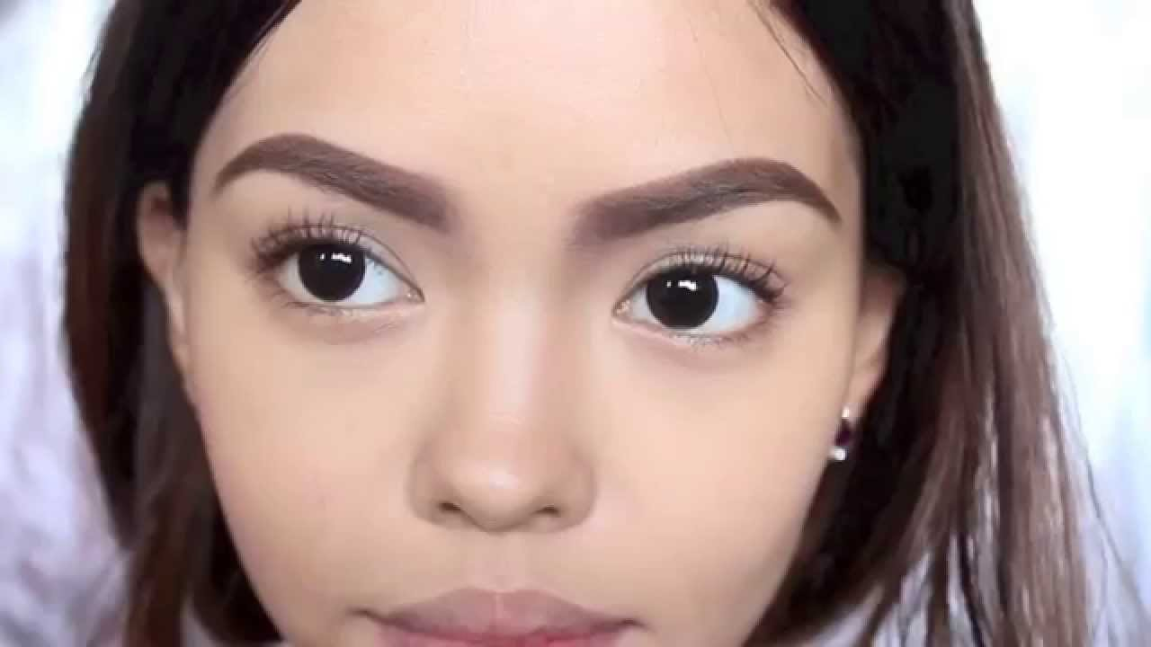 How To Cara Delevingne Thick Youthful Brow Tutorial Youtube