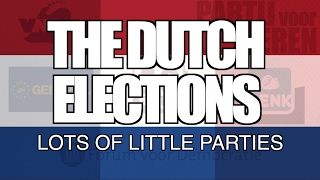 The Dutch Elections: Lots of Little Parties