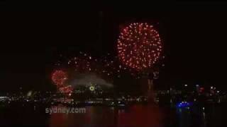 Welcome to 2012! Sydney New Year's Eve Fireworks