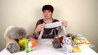 Виды шерсти для сухого валяния / Overview of types of the wool for  needle felting wool
