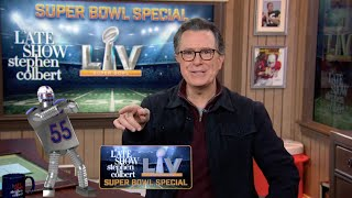 Famous Films And The NFL Come Together For Stephen's Super Bowl Special Monologue