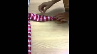 видео Как завязать женский галстук