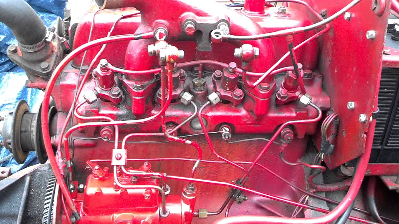 maxresdefault international 364 bd 154 engine, problem part 1 youtube Oil Pump Wiring Diagram at bayanpartner.co