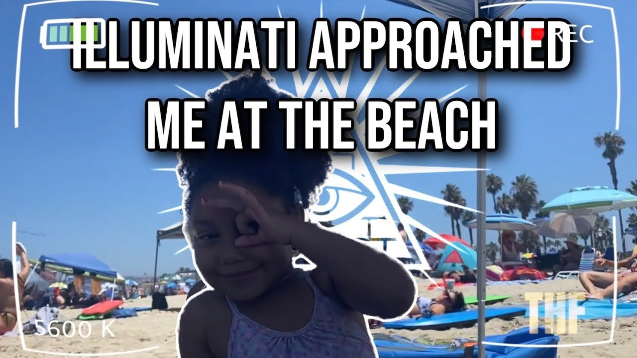 Illuminati Approached Me at Beach