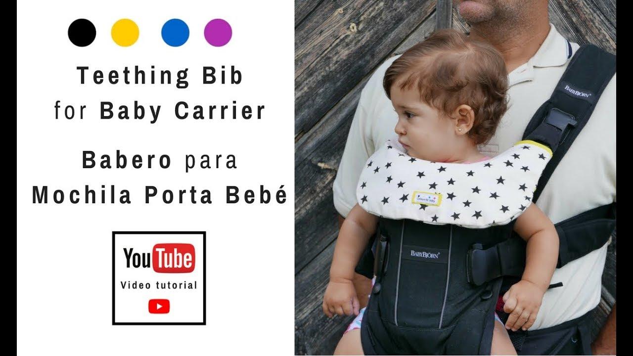 Babero para porta bebés   Patrones de Costura - YouTube