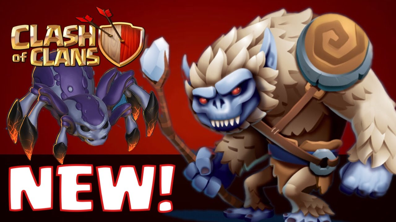 Clash of Clans - NEW 2016 TROOP WISHLIST! The Ghost, Mole, Yeti, Worm ...