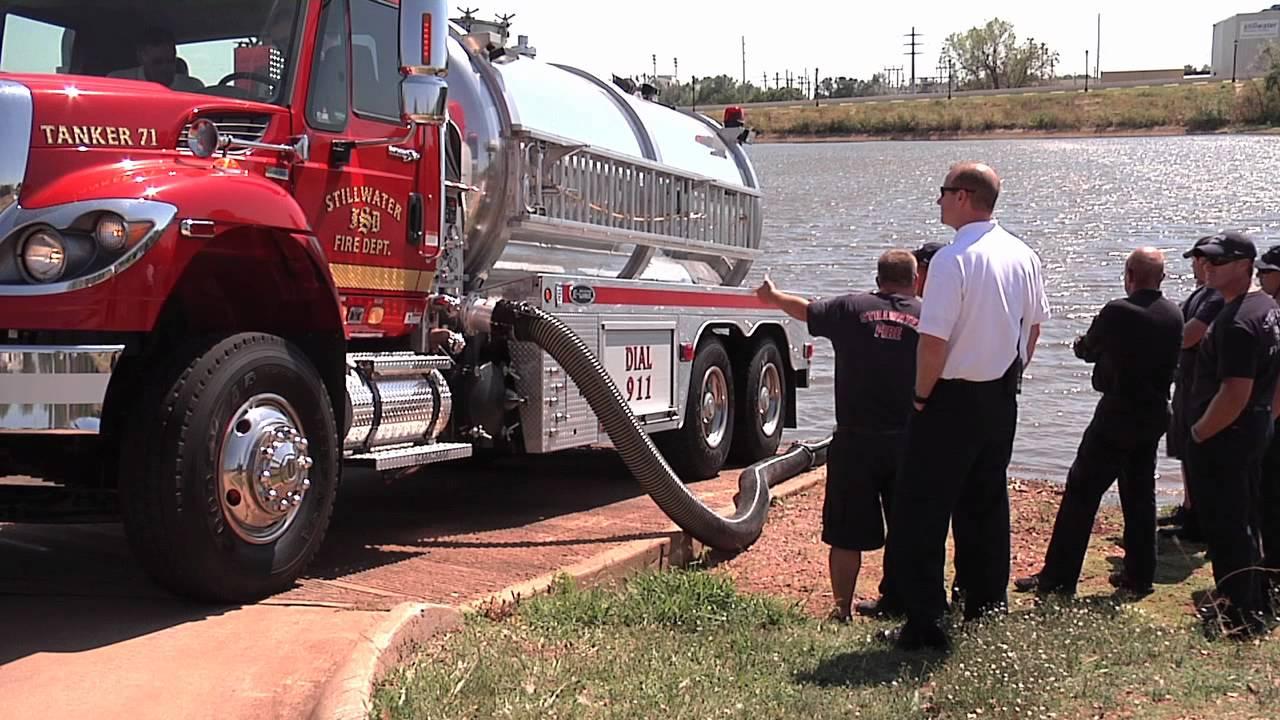 SFD's New Fire Tanker Truck - YouTube