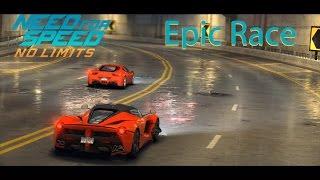 [Epic Race] Ferrari LaFerrari vs 458 Italia - Need for Speed No Limits iOS Gameplay [1080p / FullHD]