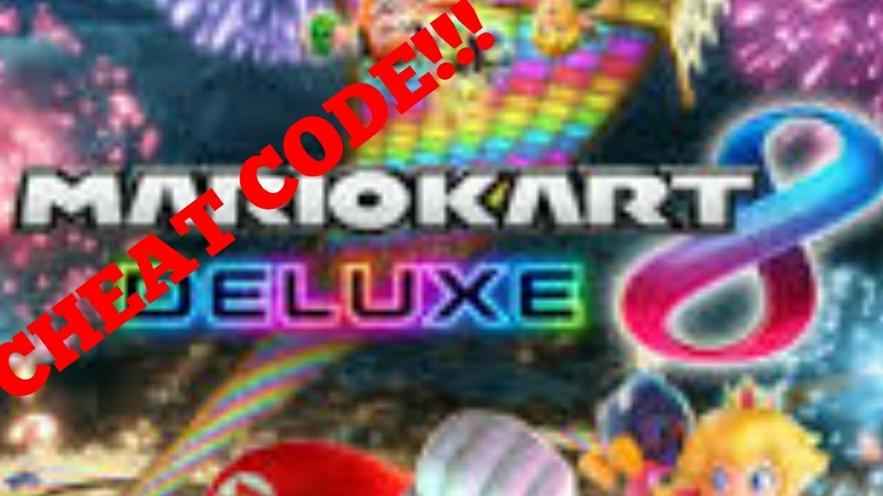 <b>Mario Kart 8</b> Deluxe <b>Cheat Code</b>!!! (Read Description) - YouTube