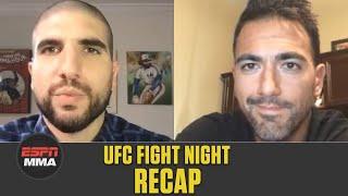UFC Fight Night Recap: Gilbert Burns beats Tyron Woodley | ESPN MMA