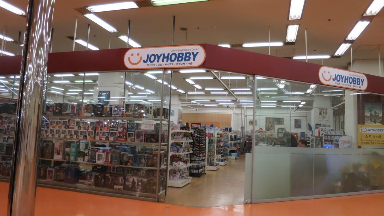 f86a53eff5e Joy Hobby toy store in Seoul