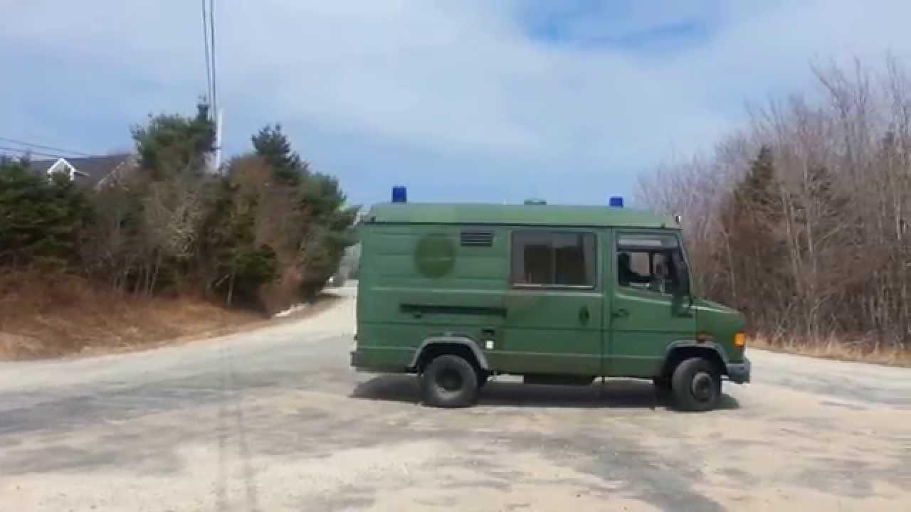 Mercedes 609d 1988 ambulance partial camper conversion for sale youtube