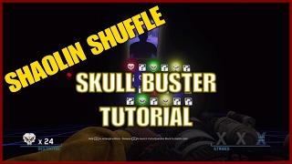 SHAOLIN SHUFFLE SKULL BUSTER TUTORIAL