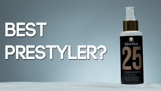 25 Leave-in Spray by TheSalonGuy | BEST PRESTYLER | Demo & Review