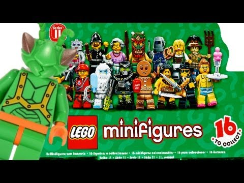 LEGO Minifigures Series 11 Review 71002 (Complete!) - YouTube