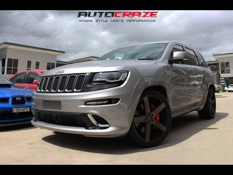 Jeep Grand Cherokee SRT Wheels - Niche Milan Rims | AutoCraze