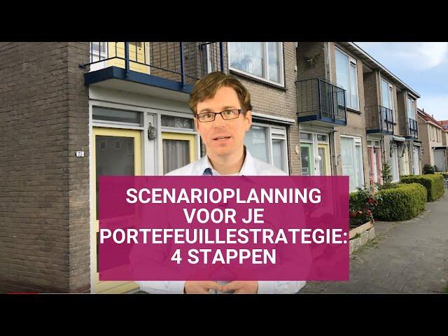 Scenarioplanning voor je portefeuillestrategie: 4 stappen