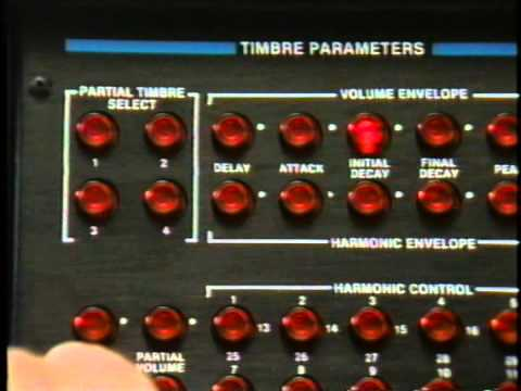 1.1 - Synclavier - Video Cassette - [ VELOCITY / PRESSURE SENSITIVE KEYBOARD ]