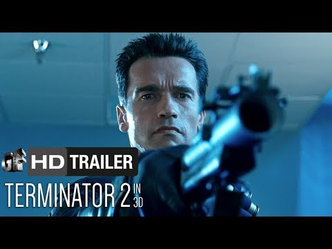 Terminator 2 3D (Trailer) - Arnold Schwarzenegger, Linda Hamilton [HD]