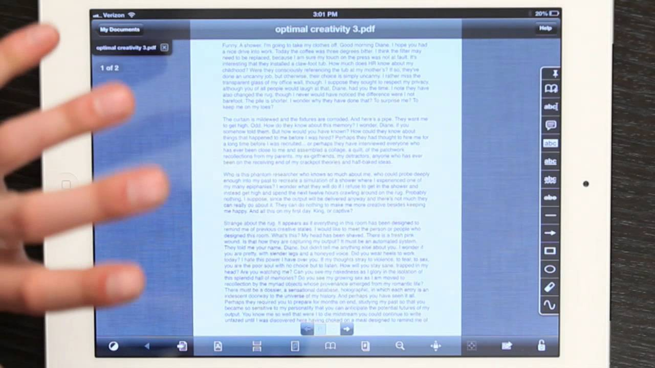 How To Annotate On The Ipad : Tech Yeah!