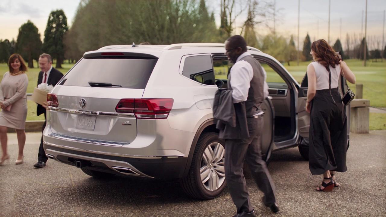 Leg Room In The 2018 Atlas Vw Suv Volkswagen Canada