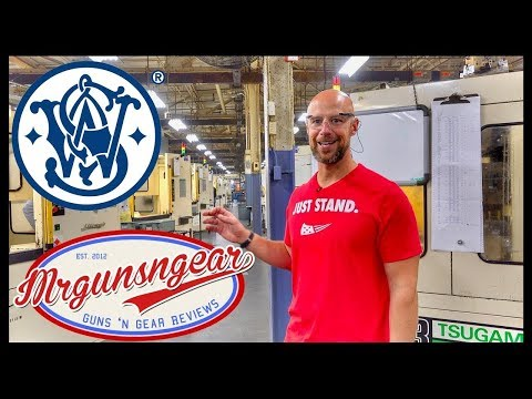 Smith & Wesson Factory Tour!