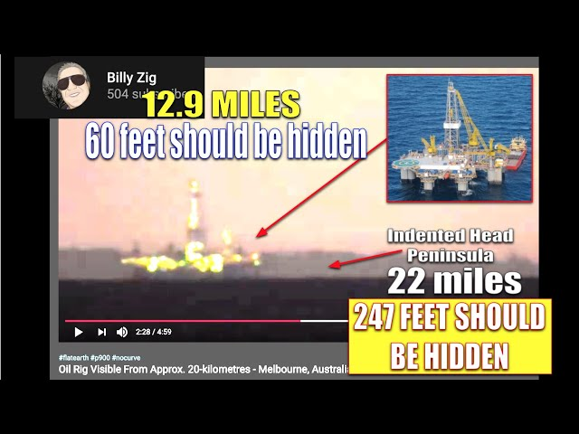ANOTHER OIL RIG THAT ISN'T HIDDEN BY CURVE. CAPTURED BY BILLY ZIG (See link in description)