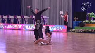 2018 PD World SD LAT   R1 Wilder - Wilder, USA   DanceSport Total