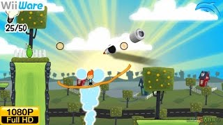Max & the Magic Marker - WiiWare Wii Gameplay 1080p (Dolphin GC/Wii Emulator)
