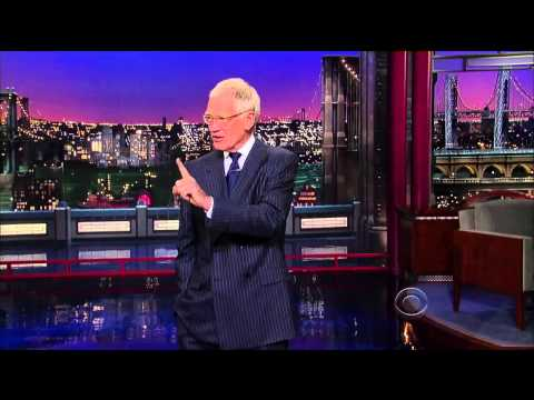 Letterman on Obamacare: Glad someone knows less about computers than I do