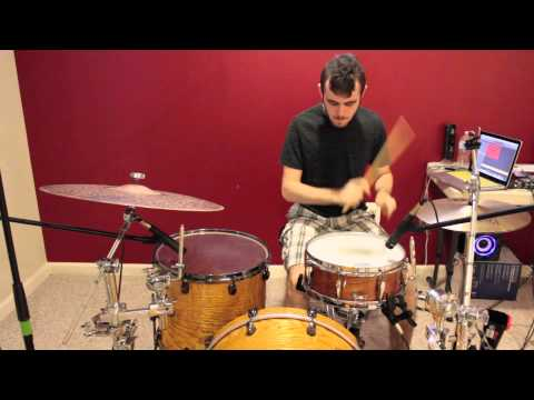 Kevin The Drummer - Get Up James Brown Drum Cover