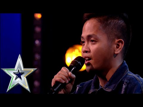 Nervous singer Rodelle from the Philippines lights up the stage  Ireland&39;s Got Talent 2019