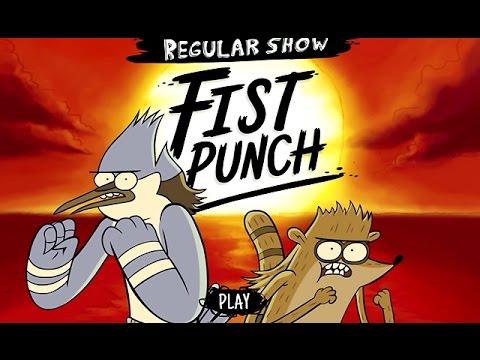 Regular Show - FIST PUNCH (Mordecai's Turn) - Cartoon Network Games