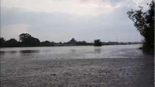平成24年7月 九州北部豪雨 堤防決壊 柳川市 三橋町