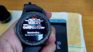 Bypass Remove Samsung Account Reactivation Lock On Samsung GEAR S3 Classic Frontier R770 R760