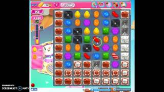 Candy Crush Level 1206 help w/audio tips, hints, tricks