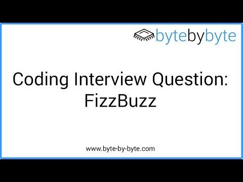 Interview Question: FizzBuzz