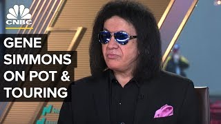 Kiss Frontman Gene Simmons On Pot, Touring And The Middle East | CNBC